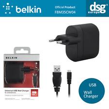 Genuino Belkin F8M305CW04 Universal USB Cargador De Pared 1000mA-Enchufe EU 2pin