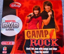 NEW Factory Sealed Disney Camp Rock DVD Game Free Shipping !