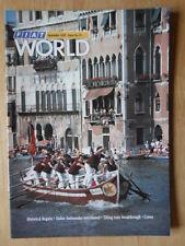FIAT WORLD 1987 UK Mkt magazine brochure - Edition 13 - Uno Tipo 500 Stretch Lim