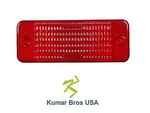New Kumar Bros USA Red Tail Light Lens for Bobcat S220 S250 S300 S330