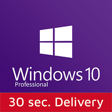 Windows 10 Professional Pro 32/64 Bits Authentic Product Key License