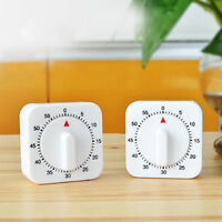 Mechanical Timer Square 60 Minute Genuine Kitchen Cook Cooking Food Preparation