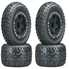 Pro-Line 1071-13 Dirt Hawg Tires Mounted Titus Wheels (4) 1/16 E-Revo VXL