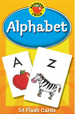 Baby Book Alphabet Memory Brighter Child Flash Cards for Toddler and Kid Gift
