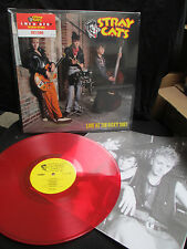 STRAY CATS Live at the Roxy 1981 LP Setzer,Phantom,Rocker ROCK THIS TOWN