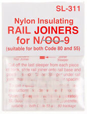 PECO SL-311 Fishplates 3 x 12 (Track Joiners) 'N' New Pack 2nd CLASS POST