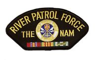 River Patrol Force The Nam Black Hat  Patch
