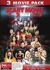Scary Movie / Scary Movie 2 / Scary Movie 3.5 NEW R4 DVD