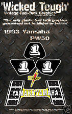 YAMAHA 1983 PW50 WICKED TOUGH DECAL GRAPHIC KIT