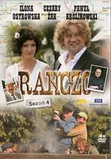 Ranczo - Sezon 4 - serial TV (DVD 4 disc)  POLSKI POLISH