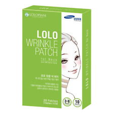LOLO Wrinkle Patch For Neck Care Anti Wrinkle Care10 Sheets NEW