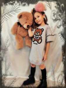 Moschino Kleid Teddy Größe 116,  140, 152,  NEU Sommer 2021