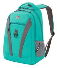 "Swiss Gear SwissGear Teal Tresa 15"" Laptop Tablet School Backpack Book Bag SA587"