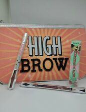 BENEFIT ~ HIGH BROW Brow Perfecting Kit! High Brow, Pencil, Primer & Pouch! NEW!