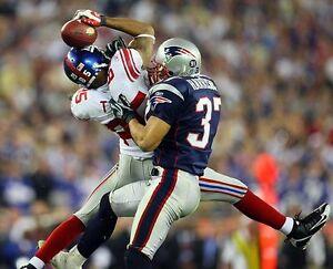 DAVID TYREE 8X10 PHOTO NEW YORK GIANTS NY NFL FOOTBALL SBXLII CATCH PICTURE