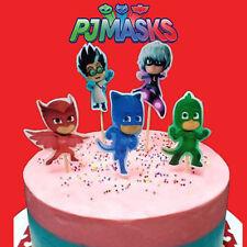 TOPPER per torta SUPER PIGIAMINI_PJ MASKS_COMPLEANNO_CIALDA_PDZ Cup Cake 5 pz