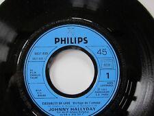JOHNNY HALLYDAY 45 T VINYLE promo hors commerce N°6837 830