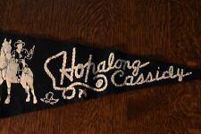 Vintage Hopalong Cassidy Pennant