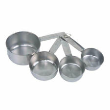 Dexam Stainless Steel Measuring Cups Kitchen Gadget Millilitres Metric Imperial