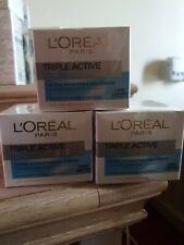 3 Loreal Triple Active Fresh Dry And Sensitive Skin