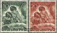 Berlin (West) 80-81 (kompl.Ausg.) mit Falz 1951 Tag der Briefmarke