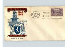 CANADA, 1949 HALIFAX Bicentenary, E. Mari Merces, Halifax, Nova Scotia First Day
