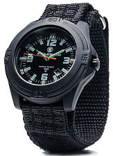 Smith & Wesson Soldier Watch SWISS TRITIUM Tactical Survival EDC Hike Hunt BLK.