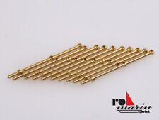 Robbe Relingstütze 25mm 2 Durchzüge Messing (10 Stück) - ro1510