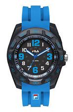 FILA STYLE 38-091-003 Uhr Armbanduhr Sport Schwarz Blau Unisex Analog