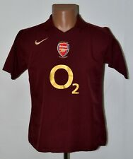 ARSENAL 2005/2006 HOME FOOTBALL SHIRT JERSEY NIKE SIZE XL KIDS HIGHBURY