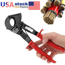240mm² Ratcheting Cable Cutter 22mm Electrical Band Cable Cutting Cutters Tools