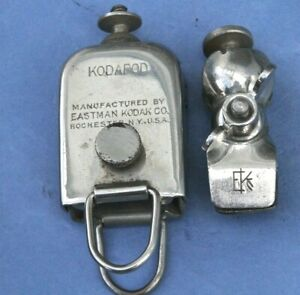 2 X Early KODAK KODAPOD and TRIPOD HEAD CLAMP