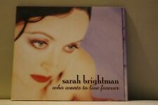 Sarah Brightman Who Wants To Live Forever CD Royal Mail 1st Class FAST & FREE