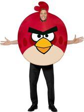 Angry Birds Costume Mens Red Bird birdskostüm Original Size M