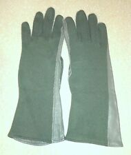 ARMY NOMEX GS/FRP-2 FLIGHT GLOVES - SIZE 6 - SAGE GREEN - BRAND NEW AND UNUSED