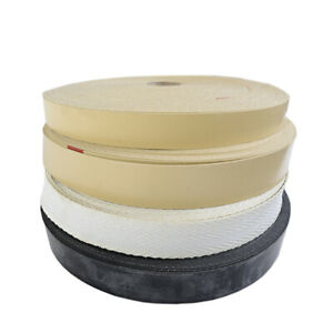 """Rubber Upholstery webbing 2"""" 1½""""  Pirelli chair sofa replacement webbing & clips"""