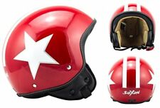 Casques rouges taille S scooter pour véhicule
