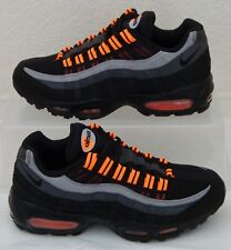 Vintage New Nike Shoes Air Max 95 Halloween Black Orange Mens US Size 7.5 UK 6.5