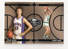 2008 TOPPS CO-SIGNERS BIRD / NASH FACE THE FACTS CARD #210/399