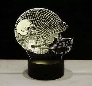 NFL Cleveland Browns LED Light Lamp Collectible NFL Football Team Nice Gifts😍