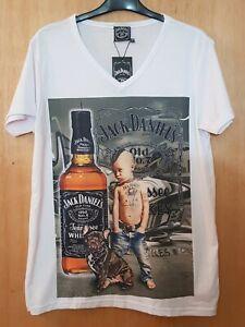 Jack Daniels Cotton T-shirt Size M-L