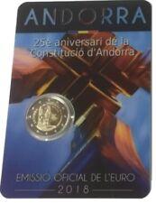 ANDORRA 2 Euro commemorative coin 2018 - Constitution - BU quality
