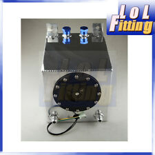 Universal Aluminum Light weight 2.5 Gallon Fuel Cell Tank with GM Sending Unit