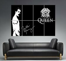 Freddie Mercury Queen Wall Art Poster Grand format A0 Large Print