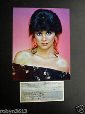SIGNED CHECK LINDA RONSTADT--11 GRAMMY AWARDS-ROCK AND ROLL HALL OF FAME-2014