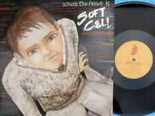 Soft Cell ORIG UK PS 12 Where the heart is EX '82 Some Bizzare BZS1612