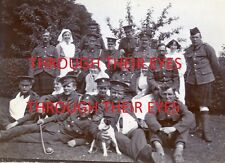 DVD SCANS WW1 PHOTO ALBUM MILITARY HOSPITALS IN HARROGATE 1915 SOLDIERS & NURSES