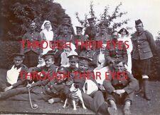 DVD SCANS WW1 PHOTO ALBUM MILITARY HOSPITALS IN HARROGATE 1915 SOLDIERS & NURSES
