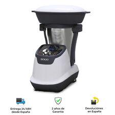Robot de Cocina Multifunción, Jarra Acero Inoxidable 1,75L - Pantalla LED
