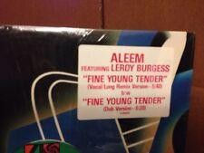 ALEEM FEATURING LEROY BURGESS FINE YOUNG TENDER REMIX VINYL 12''